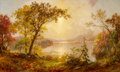 Paintings, FROM THE ESTATE OF MARY ELLEN BUNYARD. JASPER FRANCIS CROPSEY (American, 1823-1900). Greenwood Lake, Autumn on the Hudso...