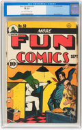 Golden Age (1938-1955):Superhero, More Fun Comics #59 (DC, 1940) CGC FN 6.0 Light tan to off-white pages....