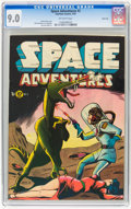 Golden Age (1938-1955):Science Fiction, Space Adventures #2 River City pedigree (Charlton, 1952) CGC VF/NM9.0 Off-white pages....