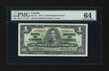 Canadian Currency: , BC-21c $1 1937. ...