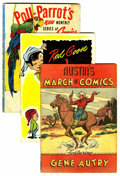 Golden Age (1938-1955):Miscellaneous, March of Comics Gene Autry Group (K. K. Publications, Inc., 1948-55).... (Total: 6 Comic Books)