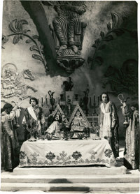 "Ivan the Terrible, Part I (Artkino, 1944). Russian Stills (8) (8.5"" X 12""). ... (Total: 8 Items)"