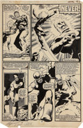 Original Comic Art:Panel Pages, John Byrne and Terry Austin Uncanny X-Men #142 page 23Original Art (Marvel, 1981)....