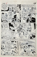 Original Comic Art:Panel Pages, Jack Kirby, Werner Roth, and Dick Ayers X-Men #15 SentinelsPage 14 Original Art (Marvel, 1965)....