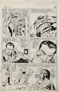 Original Comic Art:Panel Pages, Jack Kirby and Vince Colletta Fantastic Four #41 Page 9Original Art (Marvel, 1965)....