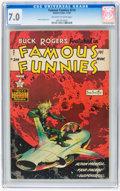 Golden Age (1938-1955):Science Fiction, Famous Funnies #214 (Eastern Color, 1954) CGC FN/VF 7.0 Off-white to white pages....