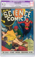 Golden Age (1938-1955):Science Fiction, Science Comics #1 (Fox, 1940) CGC Apparent NM- 9.2 Slight (P)Off-white to white pages....