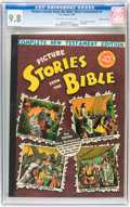 Golden Age (1938-1955):Religious, Picture Stories from the Bible Complete New Testament Edition(40-Cent Cover) Gaines File pedigree 5/12 (EC, 1945) CGC NM/MT 9...