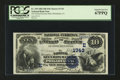 National Bank Notes:Pennsylvania, Philadelphia, PA - $10 1882 Date Back Fr. 539 The National SecurityBank Ch. # (E)1743. ...