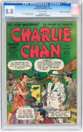 Golden Age (1938-1955):Crime, Charlie Chan #1 Mile High pedigree (Crestwood/Headline, 1948) CGC VF 8.0 Off-white pages....