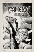 Original Comic Art:Covers, Brian Bolland Camelot 3000 #9 Cover Original Art (DC,1982)....