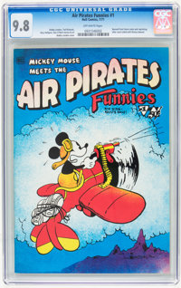 Air Pirates Funnies #1 (Hell Comics Group, 1971) CGC NM/MT 9.8 Off-white pages