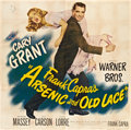 "Movie Posters:Comedy, Arsenic and Old Lace (Warner Brothers, 1944). Six Sheet (81"" X81"").. ..."