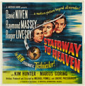 "Movie Posters:Fantasy, Stairway to Heaven (Universal International, 1946). Six Sheet (81""X 81"").. ..."