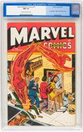 Golden Age (1938-1955):Superhero, Marvel Mystery Comics #75 (Timely, 1946) CGC NM 9.4 Cream to off-white pages....
