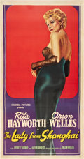 """Movie Posters:Film Noir, The Lady From Shanghai (Columbia, 1947). Three Sheet (41"""" X 81"""").. ..."""
