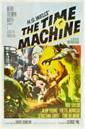 """Movie Posters:Science Fiction, The Time Machine (MGM, 1960). Poster (40"""" X 60"""").. ..."""