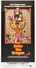"Movie Posters:Action, Enter the Dragon (Warner Brothers, 1973). International Three Sheet(41"" X 81"").. ..."