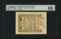 Colonial Notes:Rhode Island, Rhode Island May 1786 5s PMG Gem Uncirculated 66 EPQ....