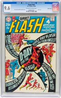 The Flash #187 Pacific Coast pedigree (DC, 1969) CGC NM+ 9.6 Off-white to white pages