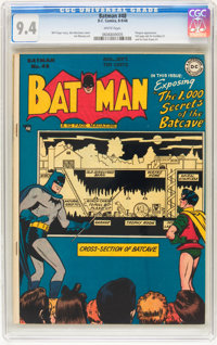 Batman #48 (DC, 1948) CGC NM 9.4 White pages
