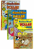 Bronze Age (1970-1979):Cartoon Character, Richie Rich and Dollar the Dog #1-24 File Copies Group (Harvey,1977-82) Condition: Average NM-.... (Total: 24 )