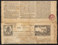 Stamps, 1755, August 18, Boston, Mass.... (Total: 1 Misc)