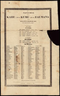 Stamps, 1834, December 24, 1834, Lahainaluna, Maui, Hawaii to Peacham, Vt.... (Total: 1 Misc)