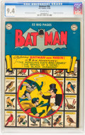 Batman #58 (DC, 1950) CGC NM 9.4 Off-white pages
