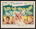 "Movie Posters:Sports, Ride the Wild Surf (Columbia, 1964). Lobby Card Set of 8 (11"" X 14""). Sports.. ... (Total: 8 Items)"