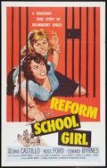 "Movie Posters:Bad Girl, Reform School Girl (American International, 1957). One Sheet (27"" X41"") Flat Folded. Bad Girl.. ..."