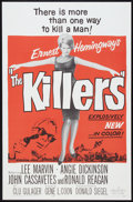 "Movie Posters:Crime, The Killers (Universal, 1964). One Sheet (27"" X 41""). Crime.. ..."