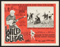 """Movie Posters:Rock and Roll, Wild Guitar (Fairway International, 1962). Lobby Card Set of 8 (11"""" X 14""""). Rock and Roll.. ... (Total: 8 Items)"""