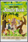 "Movie Posters:Animated, The Jungle Book (Buena Vista, 1967). One Sheet (27"" X 41"").Animated.. ..."