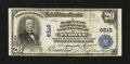 National Bank Notes:Pennsylvania, Tyrone, PA - $20 1902 Plain Back Fr. 650 The Blair County NB &TC Ch. # 6516. ...