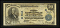 National Bank Notes:Kentucky, Louisa, KY - $20 1902 Plain Back Fr. 650 The First NB Ch. #(S)7110. ...