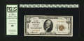National Bank Notes:Maryland, Barton, MD - $10 1929 Ty. 1 The First NB Ch. # 6399. ...