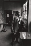Photographs:Contemporary, JIM MARSHALL (American, 1936-2010). Ben Webster , 1963.Gelatin silver, 1992. 12 x 8 inches (30.5 x 20.3 cm). Recto: sig...