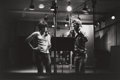 Photographs, JIM MARSHALL (American, 20th Century). Keith and Mick, 1972. Gelatin silver, 1992. 8 x 12 inches (20.3 x 30.5 cm). Recto...