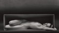 Photographs, RUTH BERNHARD (American, 1905-2006). In the Box, 1962. Gelatin silver, printed later. 7-1/2 x 13 inches (19.1 x 33.0 cm)...