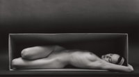 RUTH BERNHARD (American, 1905-2006) In the Box, 1962 Gelatin silver, printed later 7-1/2 x 13 inc