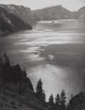 Photography :Other, ANSEL EASTON ADAMS (American, 1902-1984). Afternoon Sun, CraterLake National Park, Oregon, 1943. Gelatin silver, 1950. ...