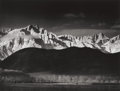 Photography :Other , ANSEL EASTON ADAMS (American, 1902-1984). Winter Sunrise, TheSierra Nevada, From Lone Pine, California, 1944. Gardner/F...