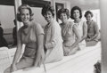 Photographs, JACQUES LOWE (American, 1930-2001). Joan, Jean, Eunice, Jackie, and Ethel Kennedy, 1960. Vintage gelatin silver, circa 1...