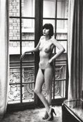 Photography :Other , HELMUT NEWTON (Australian, 1920-2004). Paris, 1977. Gelatinsilver, printed later. Paper: 19-3/4 x 16 inches (50.2 x 40....