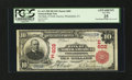 National Bank Notes:Pennsylvania, Philadelphia, PA - $10 1902 Red Seal Fr. 613 The Bank of NorthAmerica Ch. #(E)602. ...