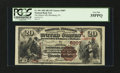 National Bank Notes:Pennsylvania, Blossburg, PA - $20 1882 Brown Back Fr. 501 The Miners NB Ch. #(E)5007. ...