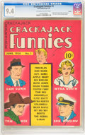 Golden Age (1938-1955):Humor, Crackajack Funnies #1 Denver pedigree (Dell, 1938) CGC NM 9.4 Off-white to white pages....