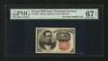 Fractional Currency:Fifth Issue, Fr. 1265 10¢ Fifth Issue PMG Superb Gem Unc 67 EPQ....