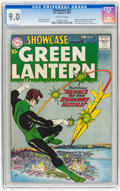Silver Age (1956-1969):Superhero, Showcase #22 Green Lantern (DC, 1959) CGC VF/NM 9.0 Off-whitepages....